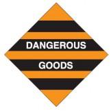 Dangerous Goods Labels & Placards - Dangerous Goods (Orange)