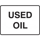 Dangerous Goods Signs Used Oil