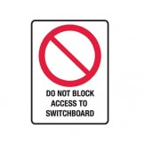 Do Not Block Access To Switchboard