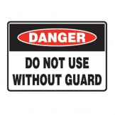 Do Not Use Without Guards