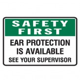 Ear Protection Is Available