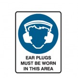 Earplugs Must Be Worn