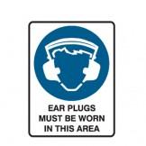 Earplugs Must Be Worn