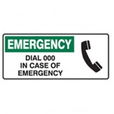 Emergency Dial 000 In Case Of Emergency