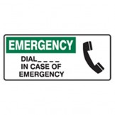 Emergency Dial ... In Case Of Emerency