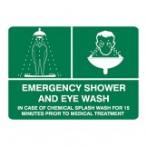 Emergency Shower And Eye Wash