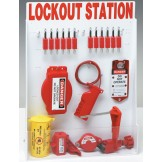 Enclosed Valve Lockout Station