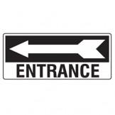 Entrance W/Left Arrow