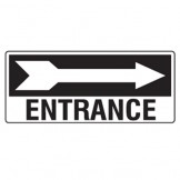 Entrance W/Right Arrow