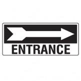 Entrance W/Right Arrow
