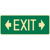 Exit & Evacuation Signs - Arrow Left Exit Arrow Right