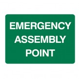 Exit & Evacuation Signs - Emergency Assembly Point