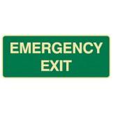 Exit & Evacuation Signs - Emergency Exit