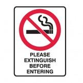 Extinguish Before Entering