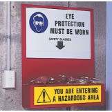 Eye PPE Equipment Station