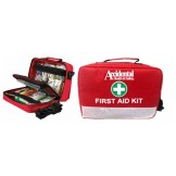 Code of Practice First Aid Kit Soft Red Case Portable