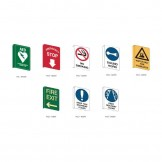 Flanged Wall Signs
