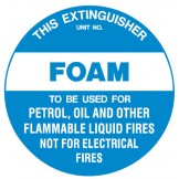 Fire Equipment Disc - Foam