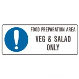 Food Preparation Area Veg And Salad Only