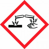 GHS Corrosion Pictogram