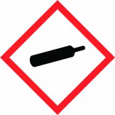 GHS Gas Cylinder Pictogram