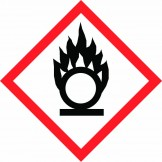 GHS Flame Over Circle Pictogram