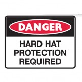Hard Hat Protection Required