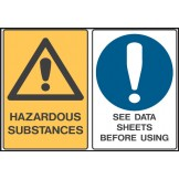 Hazardous Substances / See Data Sheets Before Using
