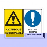 High Noise Area / Hearing Protection Must Be Worn - Multimessage Signs