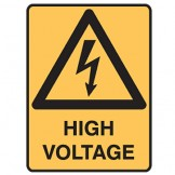 High Voltage - Ultra Tuff Warning Signs