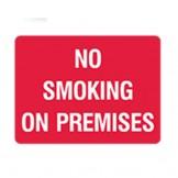 Ind Graphic Smoking Area Signs - No Smoking On Premises