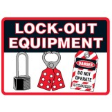 Lockout Signs - Lock-Out Equipment