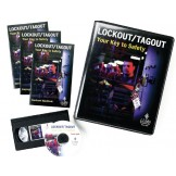 Lockout Tagout Training Kit DVD