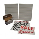 Changeable Message kit for Heavy Duty Floor Stand (Style B)