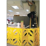 Mobile Safety Barrier 3.9M