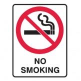 No Smoking Labels 55x90 SAV Pk5