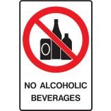 No Alcoholic Beverages