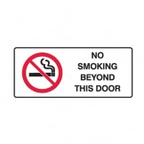 No Smoking Beyond This Door