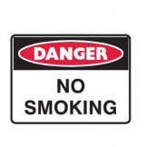 No Smoking - Danger Signs