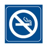 No Smoking - Graphic Symbol Signs