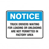 Notice Truck Drivers Waiting For Loading Or Unloading