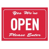 Double Sided Open/Closed Door Sign
