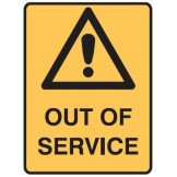 Lockout Signs - Out Of Service