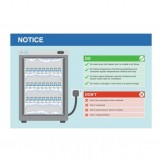 Vaccine Fridge Sign - Do's and Don'ts, 450 x 300mm