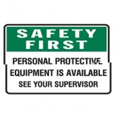 Personal Protective Equipment Available