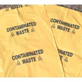 Contaminated Waste Bags