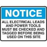 All Electric Leads And Power Tools