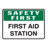 Safety First - First Aid Station