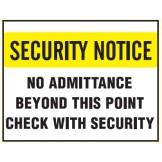 See Thru Security Labels