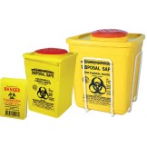 Sharps Containers and Wall/Trolley Brackets